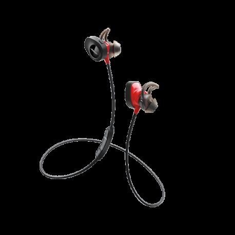 BOSE SoundSport Pulse - Słuchawki bezprzewodowe (czerwone)